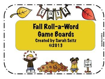 Fall Roll a Word