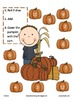 Fall Roll and Cover Math Mats (apple and pumpkin themed)