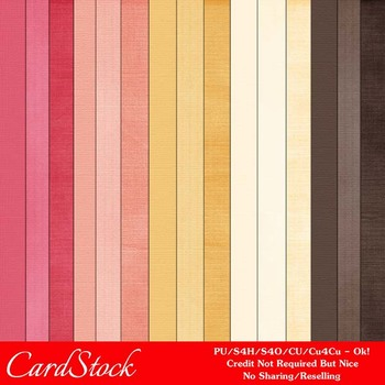 Fall Season Colors 3 Digital Papers Package 3
