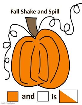 Fall Shake and Spill Freebie