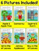 Fall Activities Sight Words Mystery Pictures Bundle - Autu