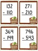 3rd grade Fall Subtraction--3, 4, and 5 digit with regrouping