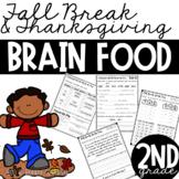 Fall & Thanksgiving Break Brain Food