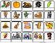 """Fall & Thanksgiving"" Words/Matching/Memory Game/Flashcard"