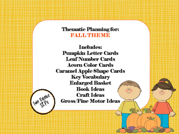 Fall Thematic Planning