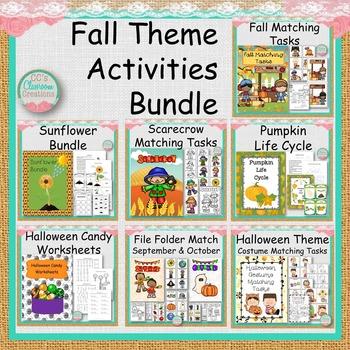 Fall Theme Activities Bundle