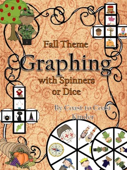 Fall Theme Graphing with Spinners or Dice