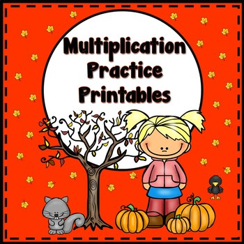Multiplication Worksheets - Fall