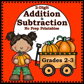 Fall Addition and Subtraction - 2nd and 3rd grades