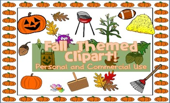 Fall Themed Clipart