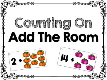 Fall Themed Counting On Add The Room