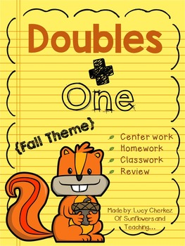 Fall Themed Doubles Plus One Activity