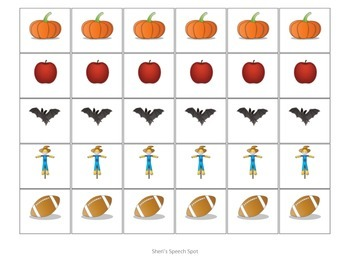 Fall Themed Fluency and MLU helper FREEBIE!!