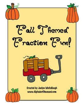 Fall Themed Fraction Fun!