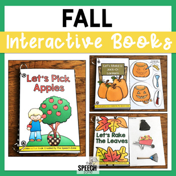 Fall Themed Interactive Book Bundle