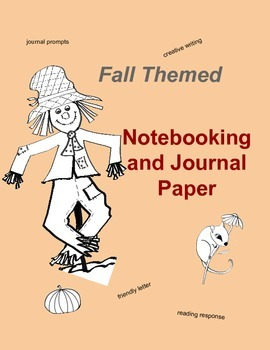 Fall Themed Journal and Notebooking Pages