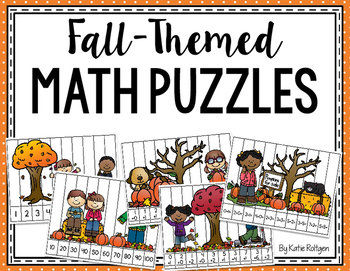 Fall-Themed Math Puzzles
