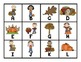 """Fall Themed """"Roll, Say, Keep!"""" Game, Center, Printables  C"""