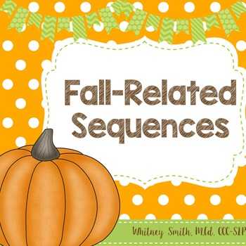 Fall Themed Sequences