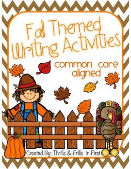 Fall Themed Writing
