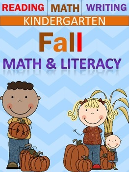 Fall Themed kindergarten Packet..Math and Literature