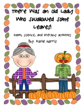 Fall-There Was an Old Lady Who Swallowed Some Leaves! Book