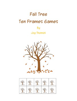 Fall Tree Ten Frames Games