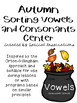 Fall Vowels and Consonants Centers Bundle (Orton-Gillingha