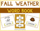 Fall Weather and Clothing Language Bundle with Adapted Books