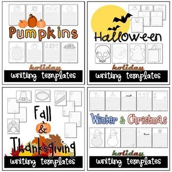 Fall & Winter Writing Paper