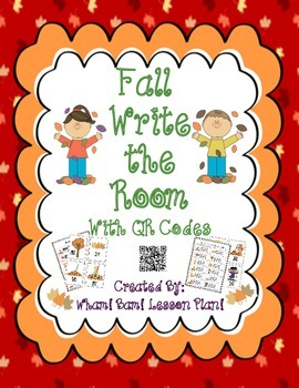 """Fall """"Write the Room"""" with QR Codes"""