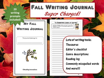 Back to School:  20 Fall Writing Prompts in a Super Charge