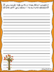 Fall Journals {Fall Writing Prompts}