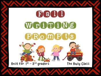 Fall Writing Prompts (1st-3rd)