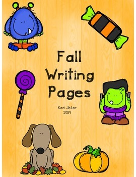 Fall Writing Papers