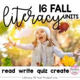 Fall Reading  /Fluency with Coordinating Writing and Art (