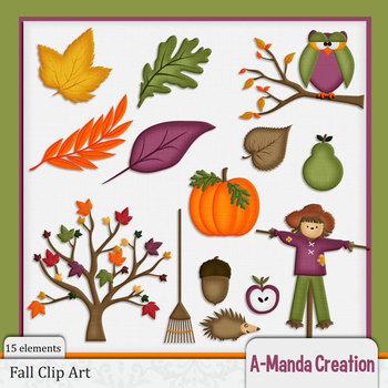 Fall and Autumn Clip Art
