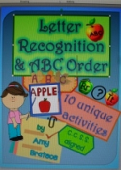 Fall and Autumn Letter Recognition and ABC Order Emergent