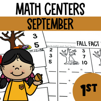 Fall and Autumn Math Centers