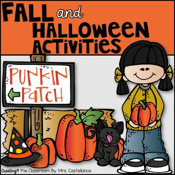 Halloween and Fall Activities {Math, Literacy, and Writing