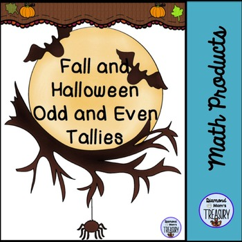Fall and Halloween Odd and Even Tallies