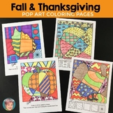 Thanksgiving Interactive Coloring Sheets Featuring Pumpkin