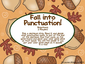 Fall into Punctuation!