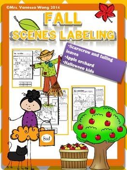 Fall labeling Freebie