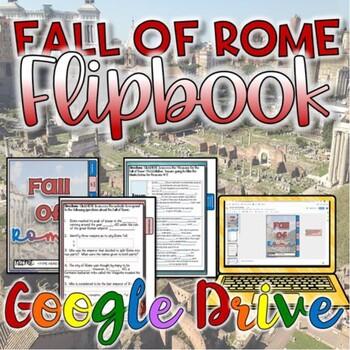 Fall of Rome Digital Activity {Google Drive}