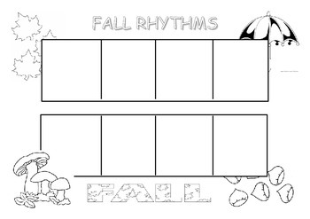 Fall rhythms to play in music class