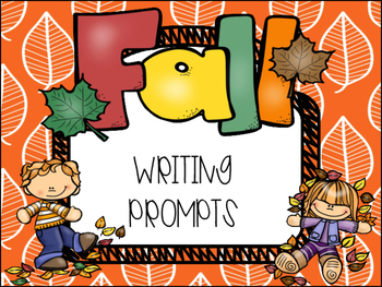 Fall themed Writing Prompts