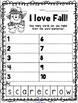 Fall Making Words Mini Book