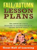 Fall/Autumn Lesson Plans