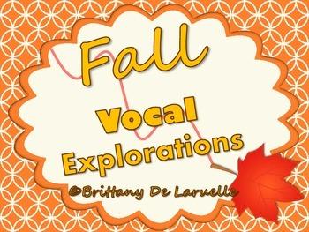 Fall/Autumn Vocal Explorations